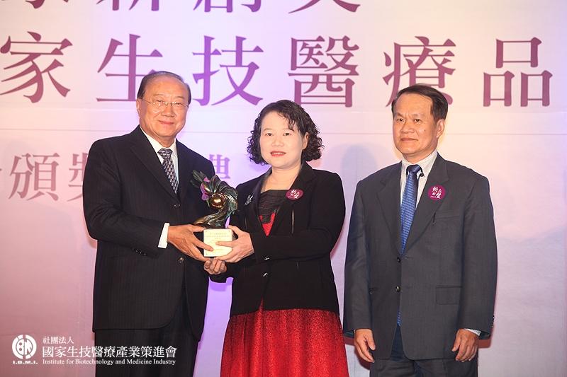 學術研究組獲獎:王美惠研究員團隊_行政院原子能委員會