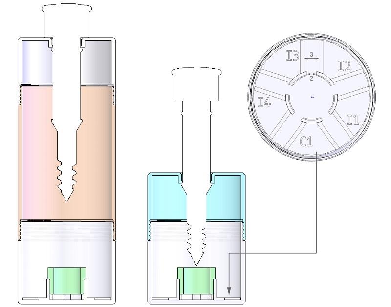 檢測平台立體圖