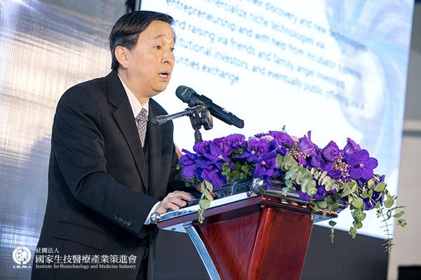 創新 前行:逸達生物科技股份有限公司 甘良生總經理
