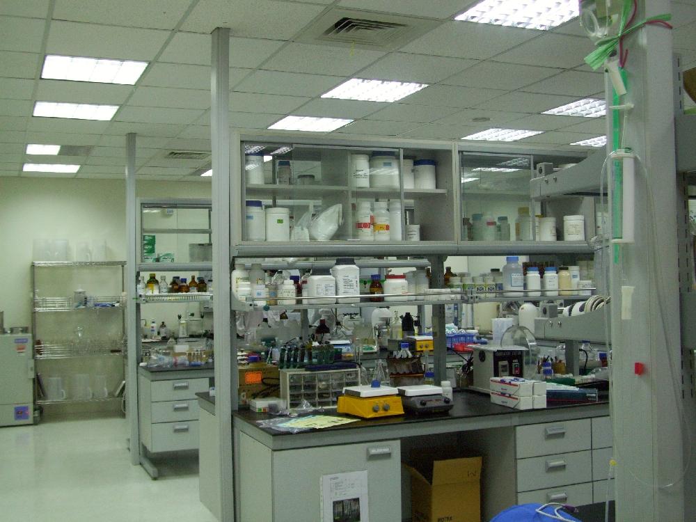 因華生技製藥位於內湖科技園區實驗室