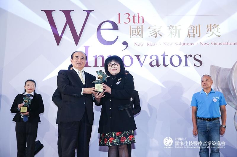 企業新創獎 新創服務組獲獎:台灣植體科技股份有限公司-開創牙科新藍海-鈦美科技植牙系統服務