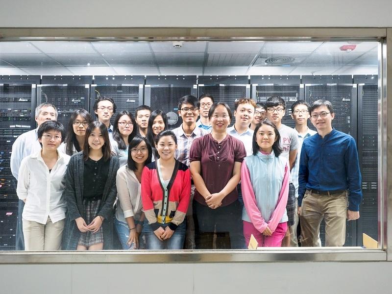 研發團隊(曾宇鳳)-分子計算與代謝體實驗室團隊