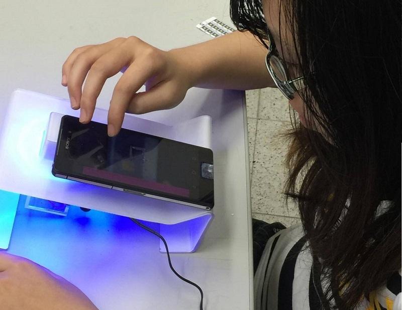 智慧型紙基檢測晶片系統操作