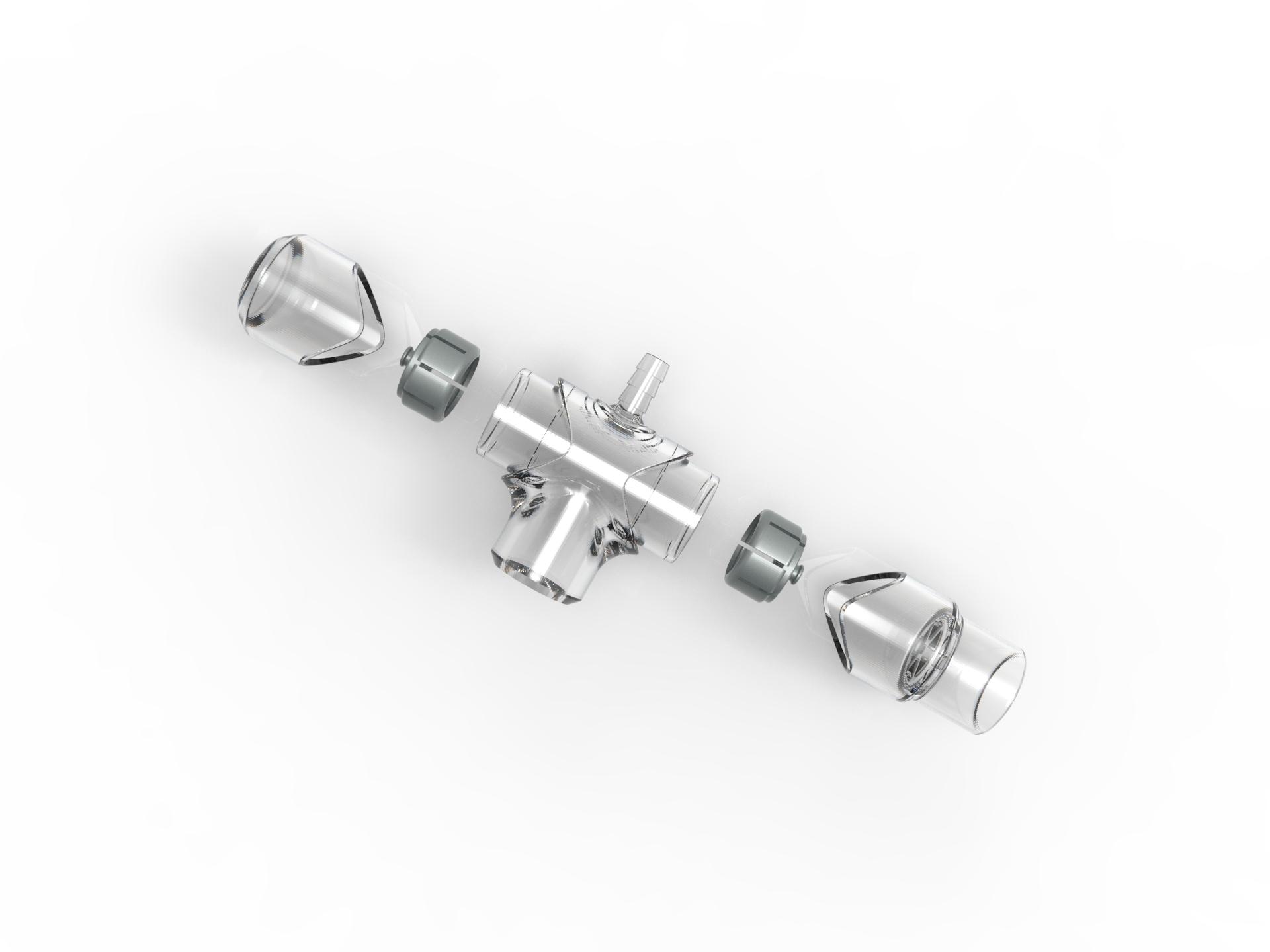 多功能氣切發聲器-可拆裝組合