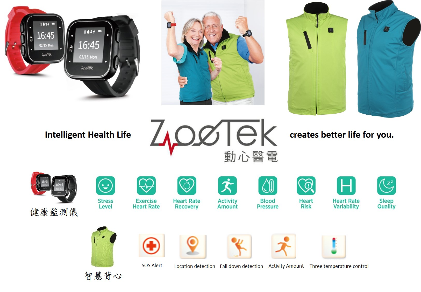 Zoetek,Intelligent Health Life,creates better life for you.