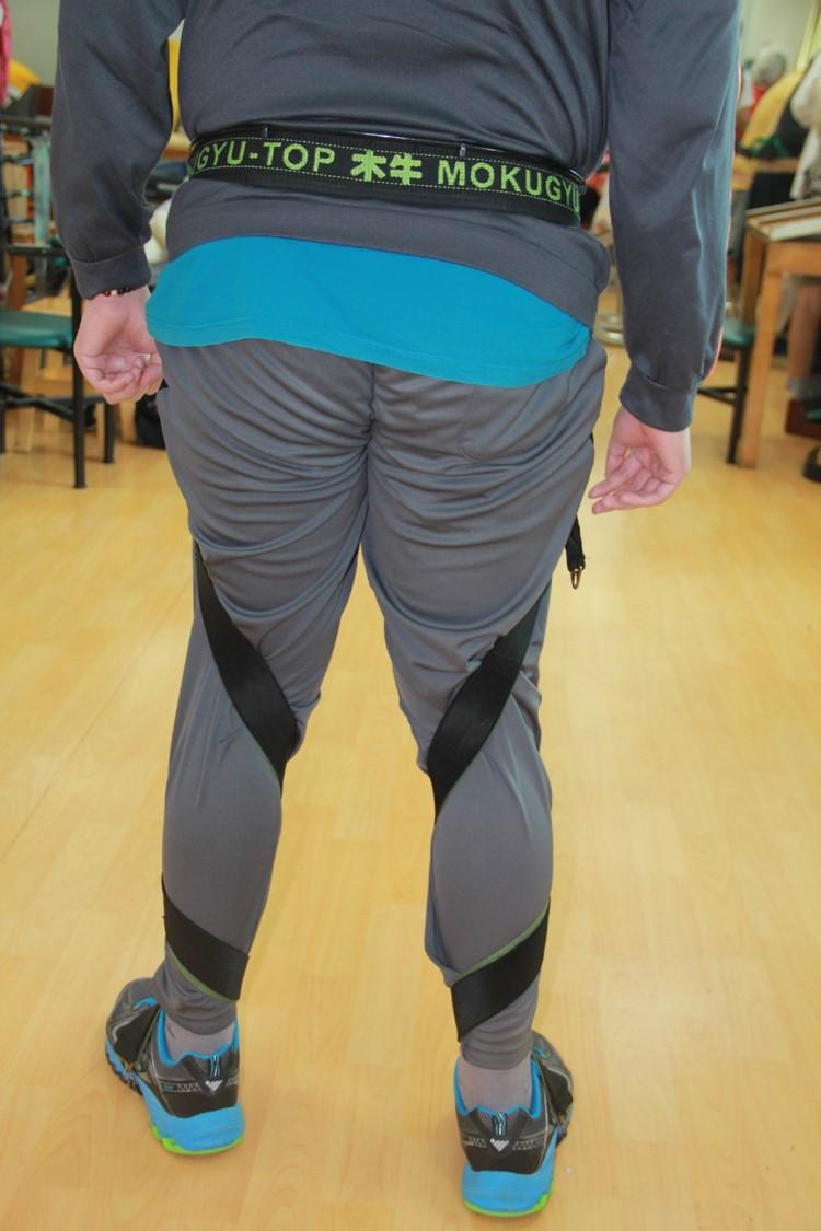 連動式足部側翻矯正裝置.產品背面觀
