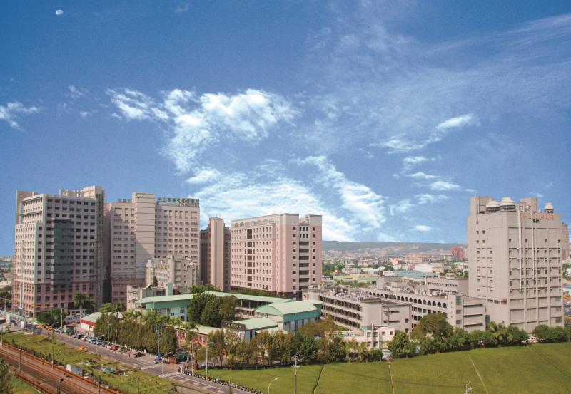 中山醫為中部醫學中心.地處台中南區