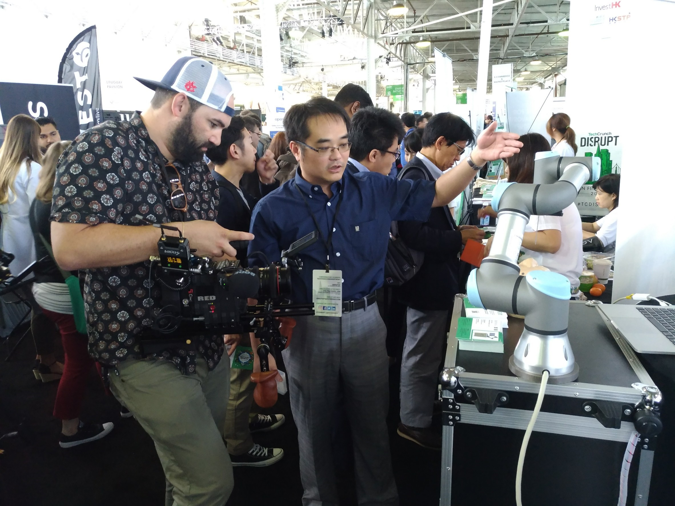 鈦隼代表台灣之一至美國TechCrunch 展覽