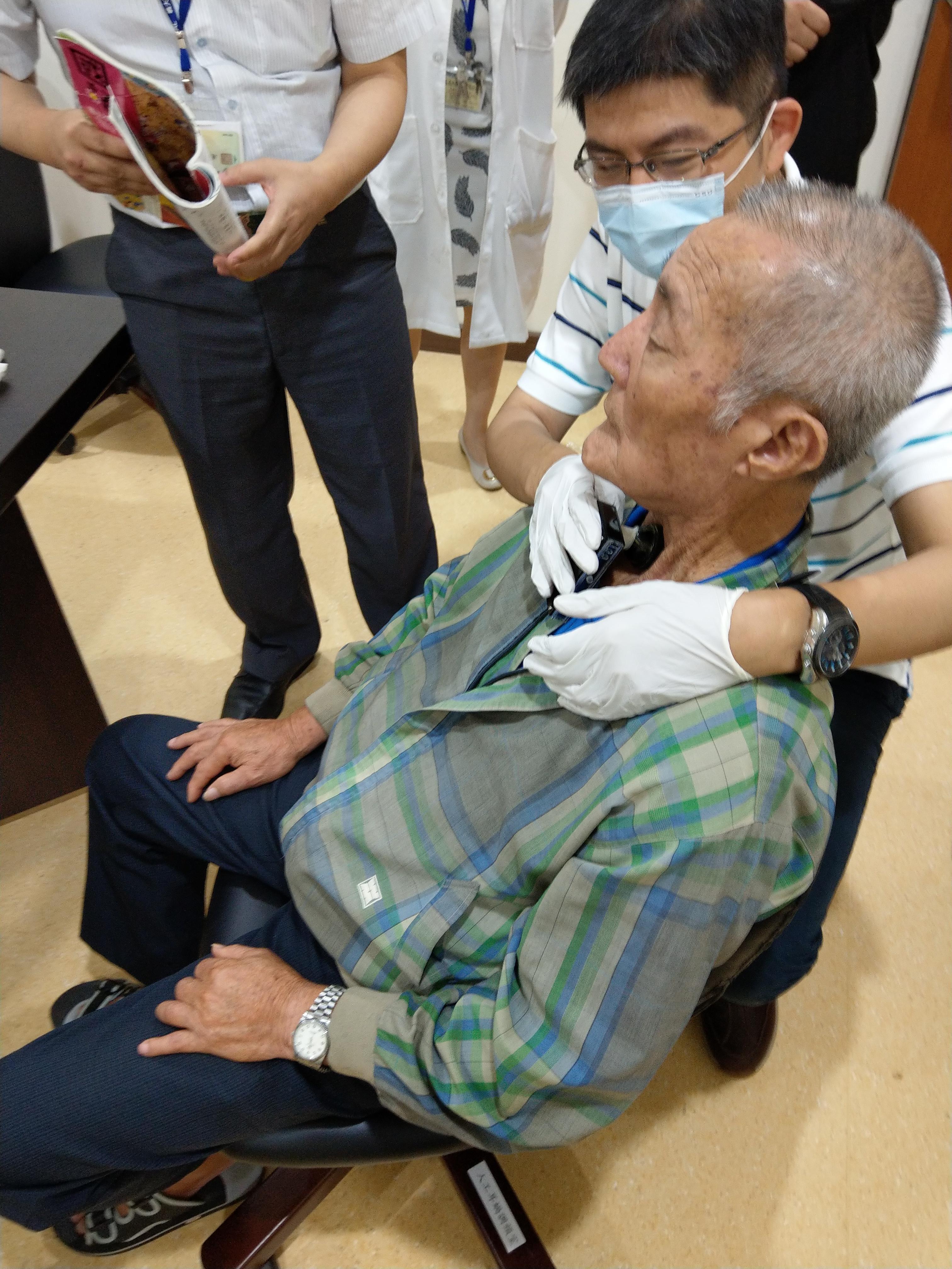 人工電子喉測試場景