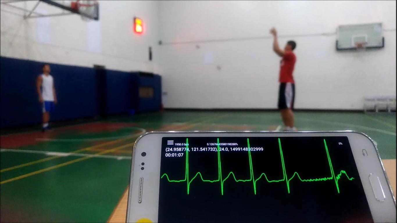即使在運動的狀況下,也可精準感測到極細微的心電訊號波形變動,可應用在健康、運動與醫療各方領域