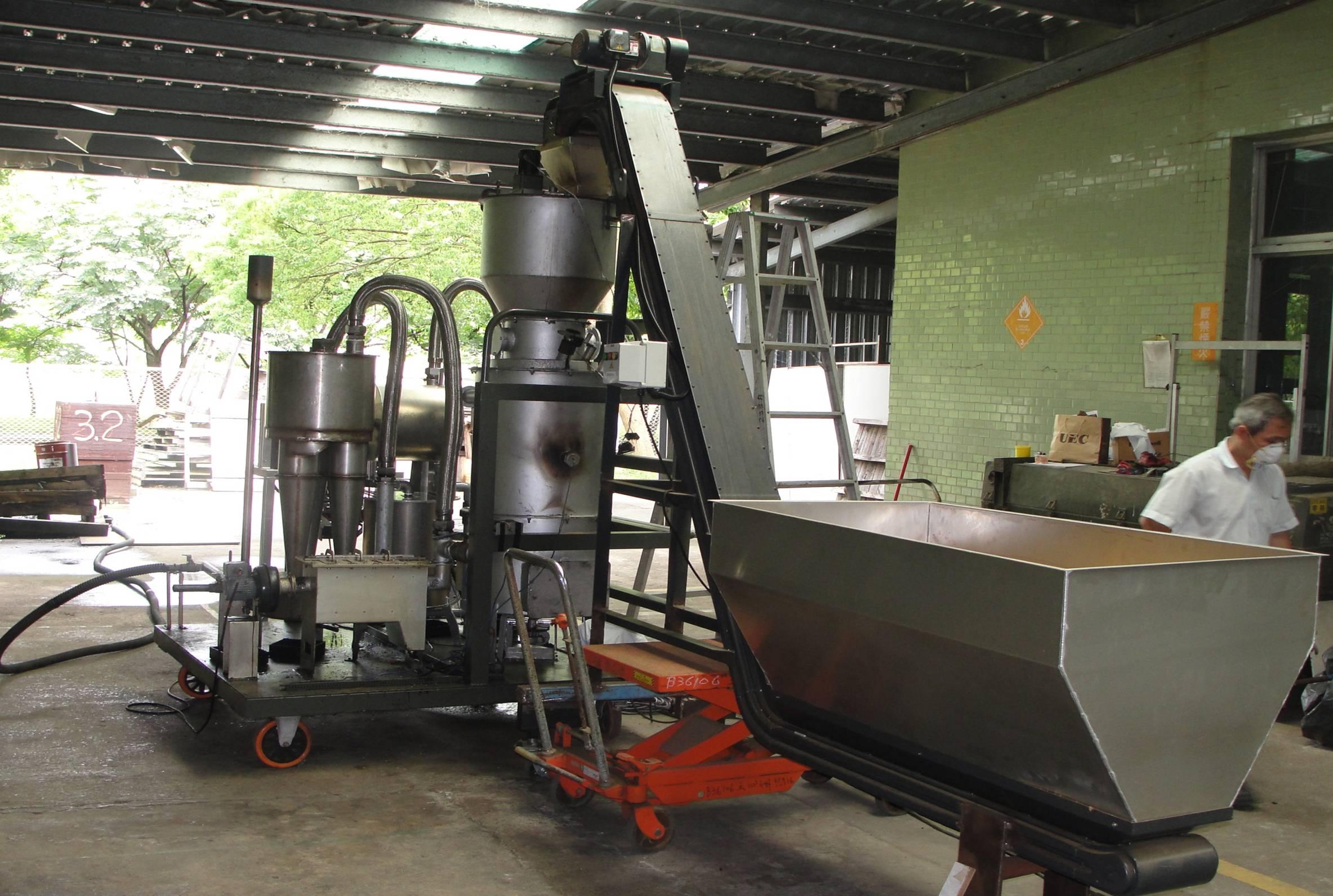 小型木氣爐發電系統