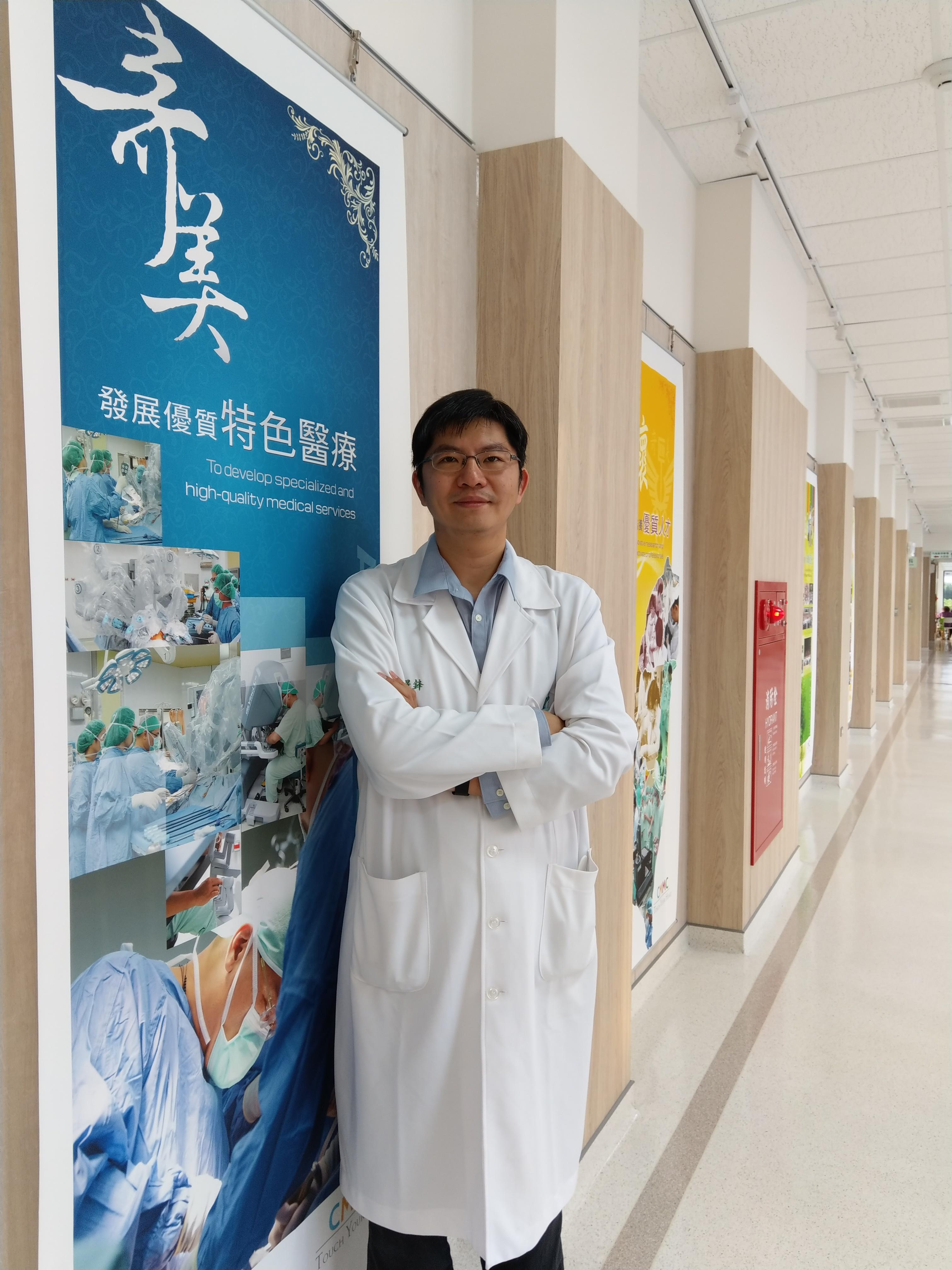 人工電子喉發明人---劉璟鋒主任