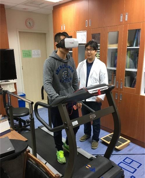 運用虛擬實境方式進行前庭功能復健