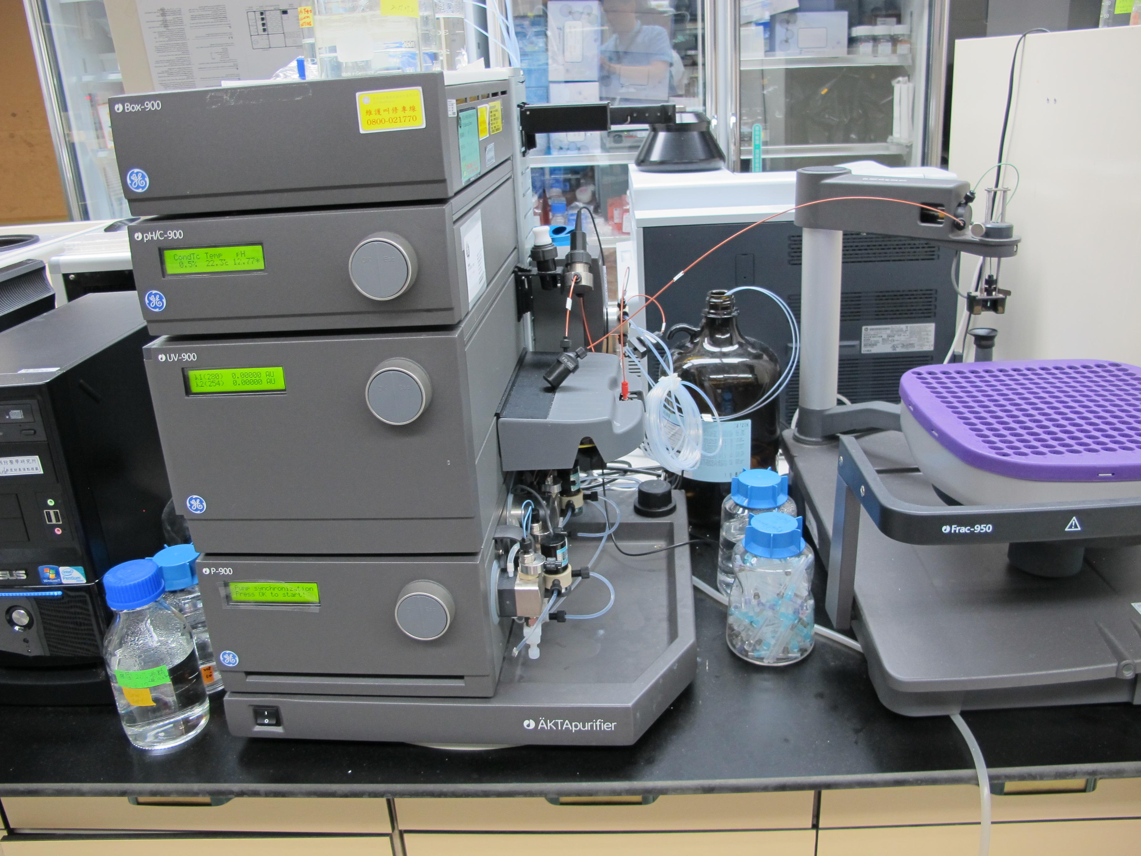 先導級蛋白質純化儀