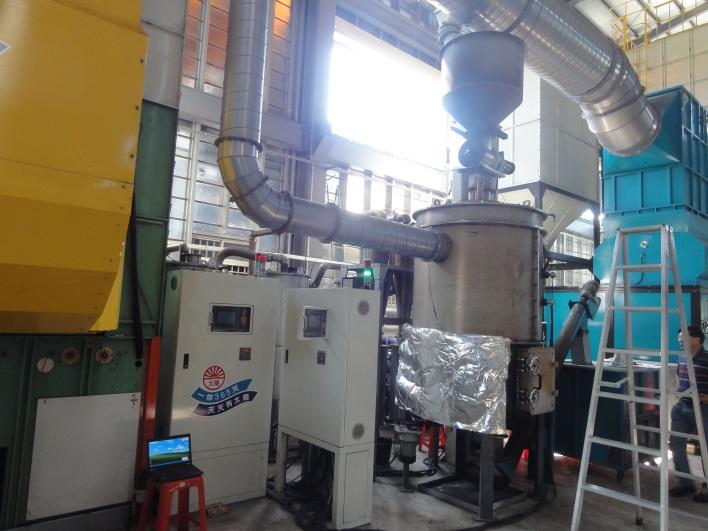 農用稻穀生質燃氣熱電系統