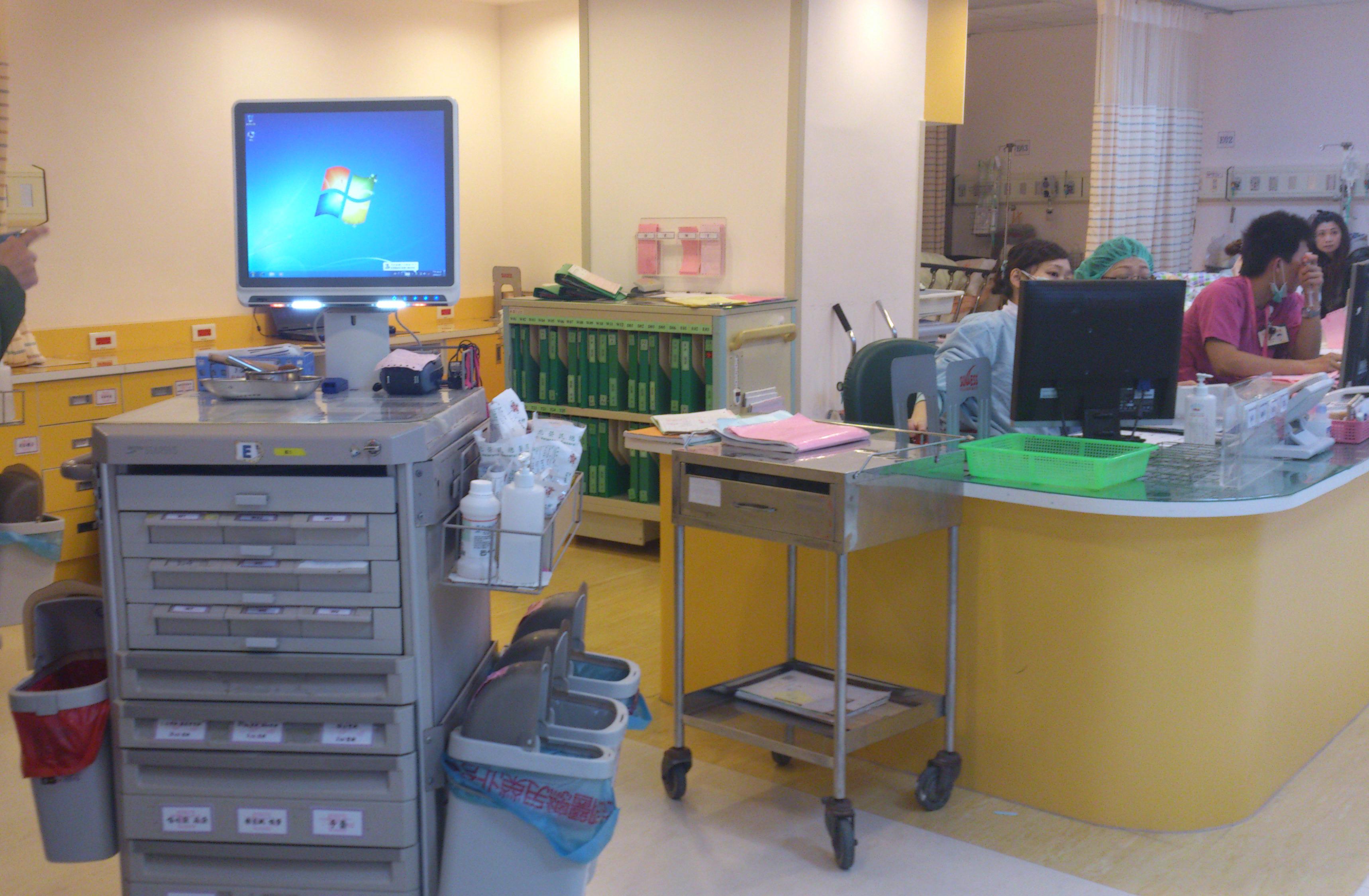 醫療級不斷電系統在台灣醫院護理站使用狀況