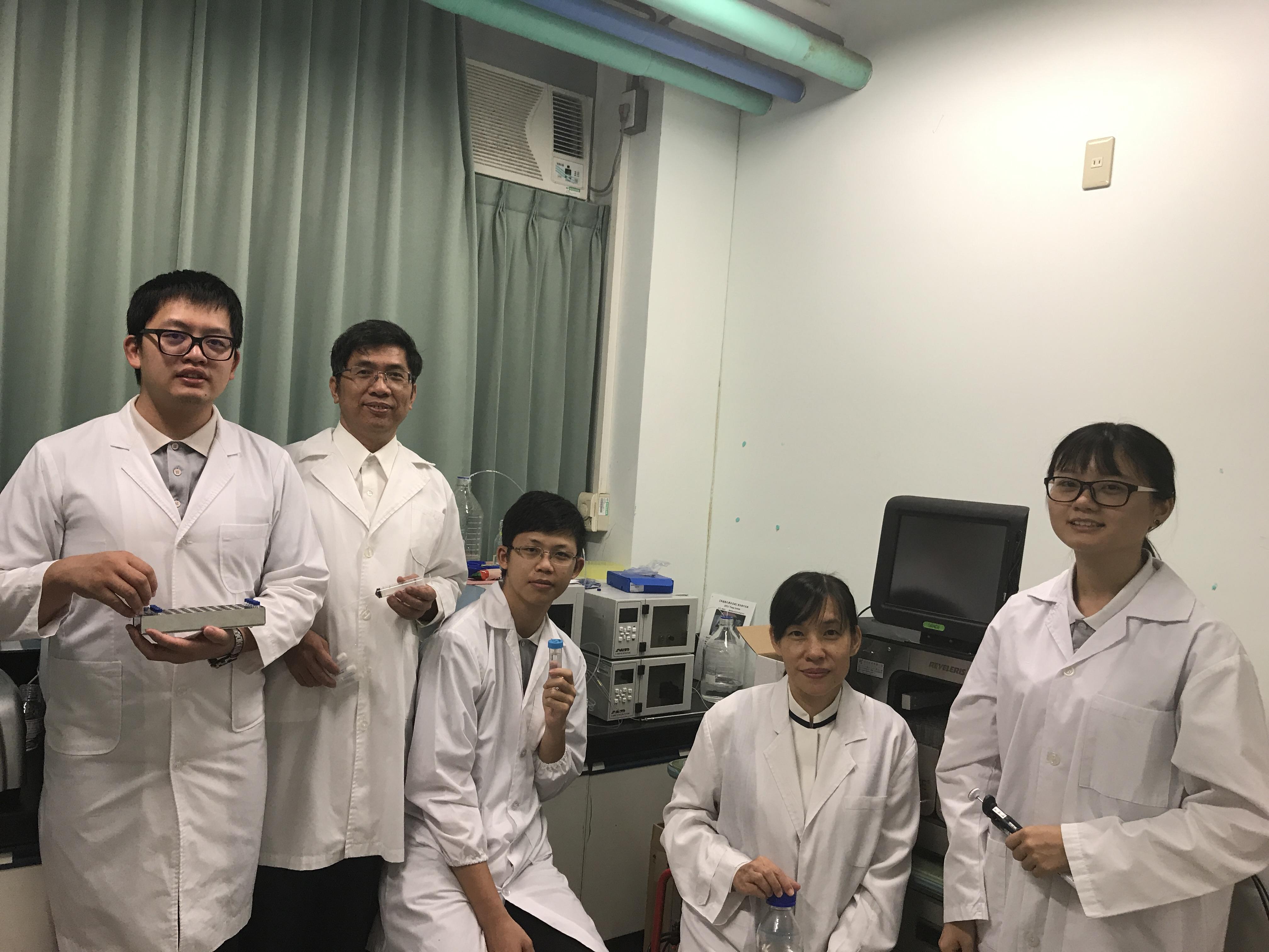 團隊成員-萃取物成分分析