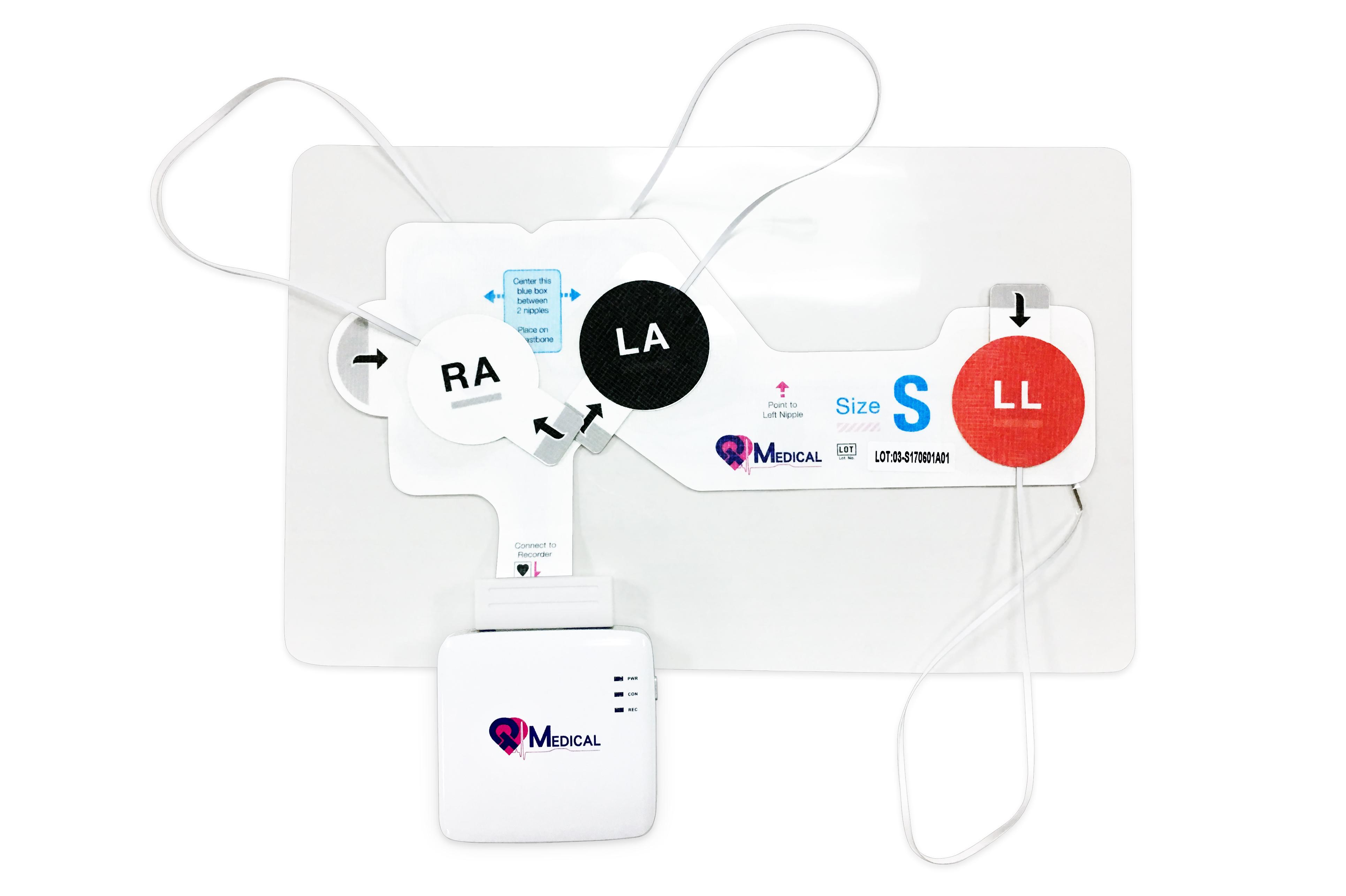 QT ECG Recorder 連接 Strip 正視照