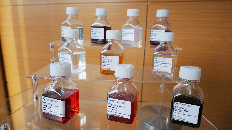 產品 – 奈米金屬及金屬氧化物膠體溶液