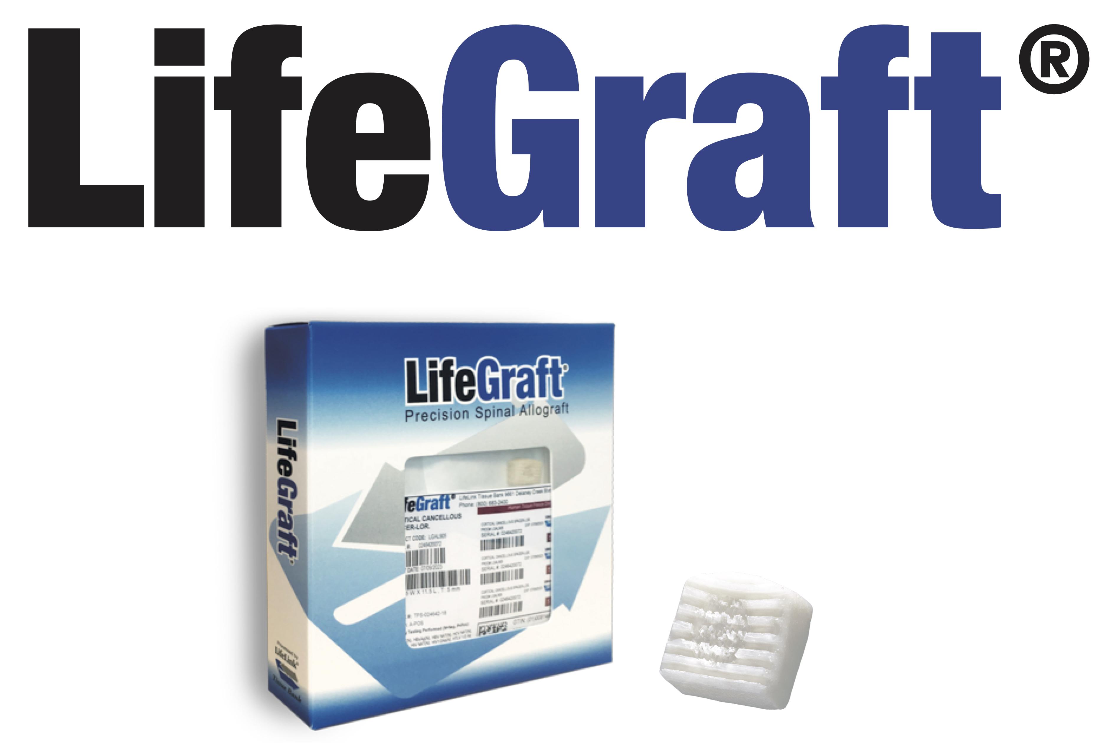 醫晟生醫之異體骨脊椎融合器LifeGraft®Cervical Fusion Allograft