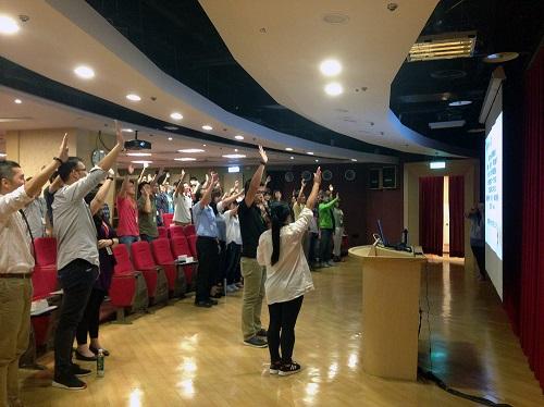 acer職場員工踴躍參與宏碁智雲健康管理平台所合作的健康促進活動說明會