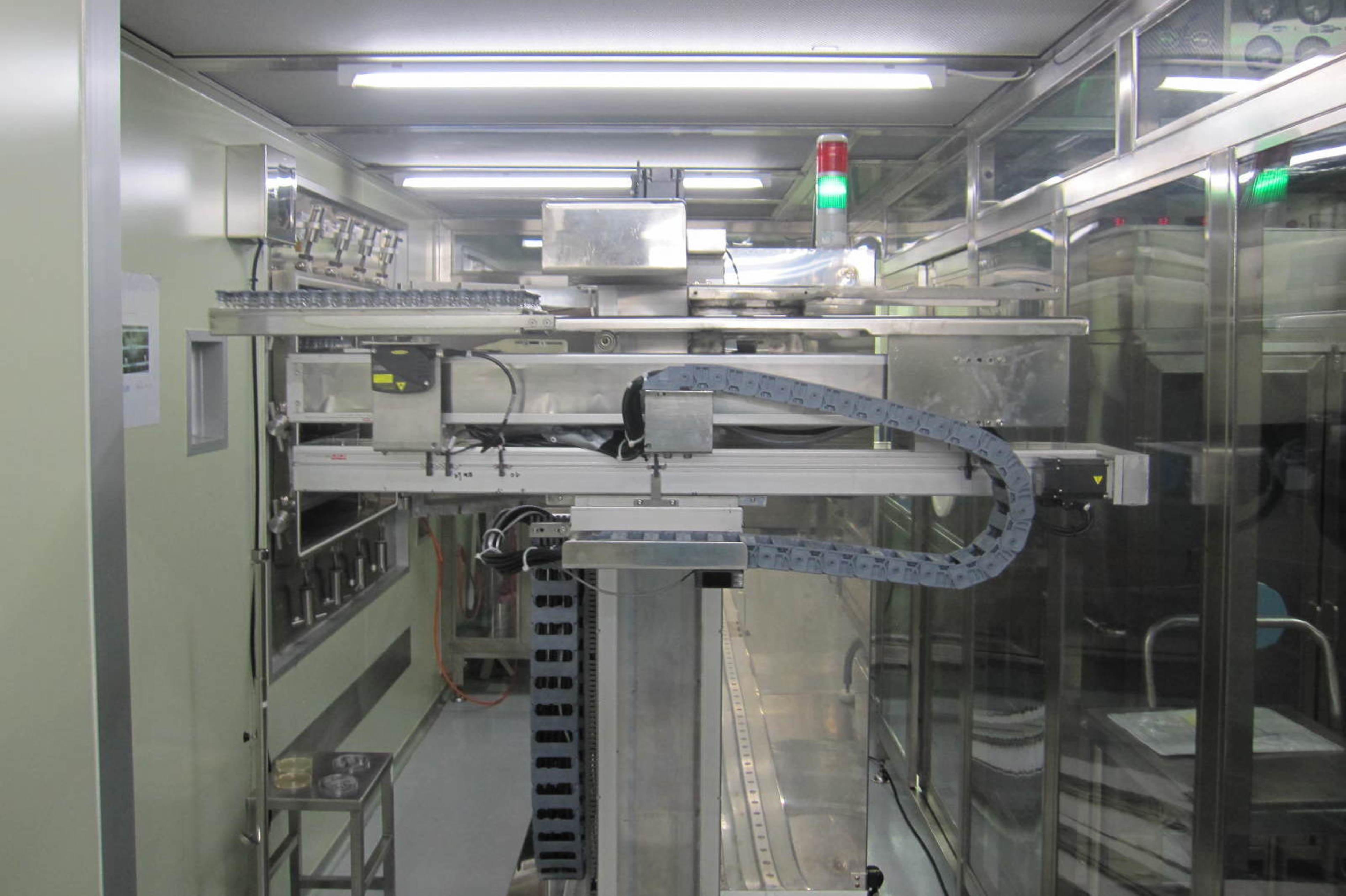 杏林新生製藥凍晶製劑自動化生產設備