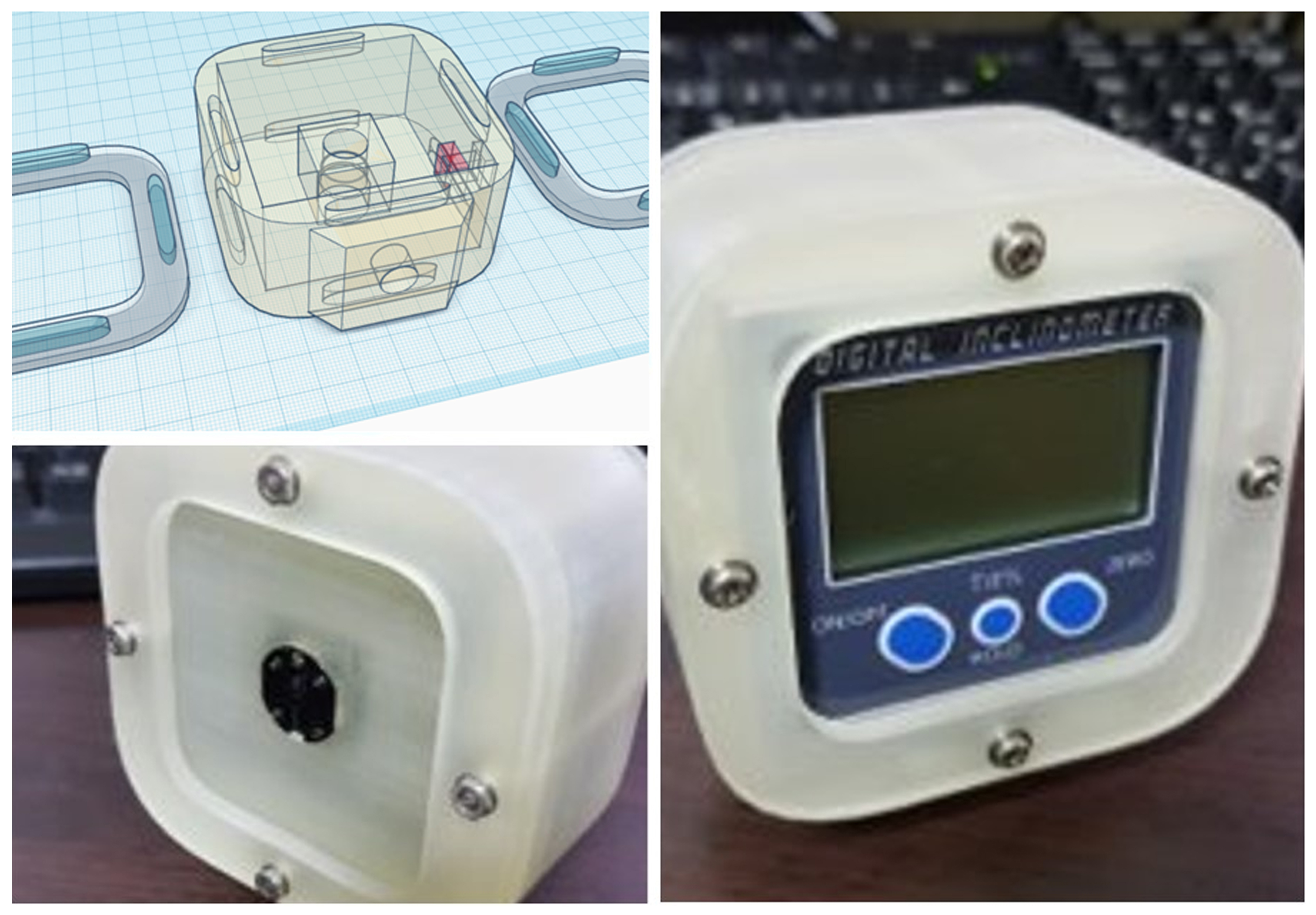 輔助雷射設計圖與3D列印樣本