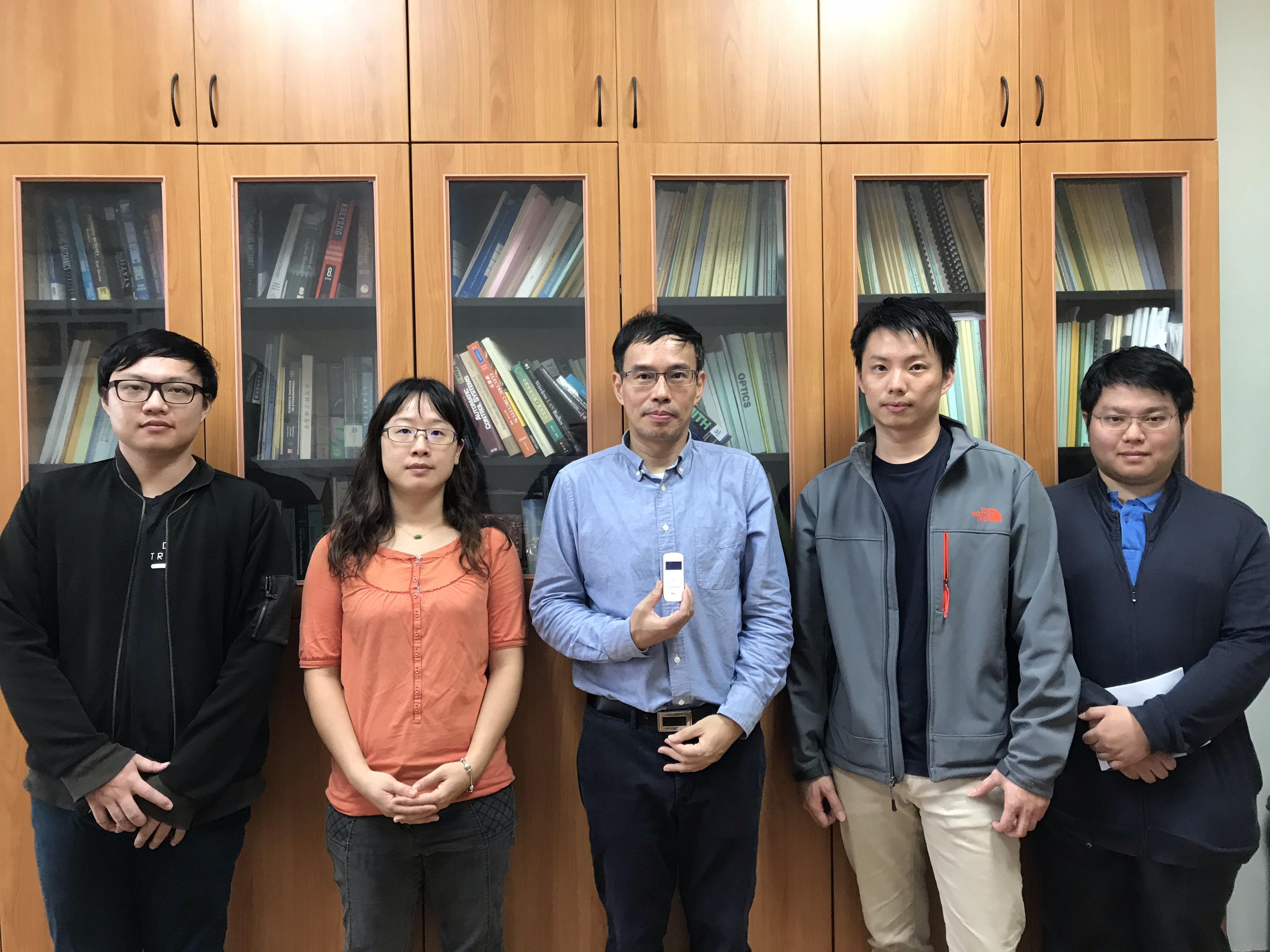 唐德成、楊智宇與美國加州大學聖地牙哥分校錢煦院士(bilateral symposium, UCSD, 2016)