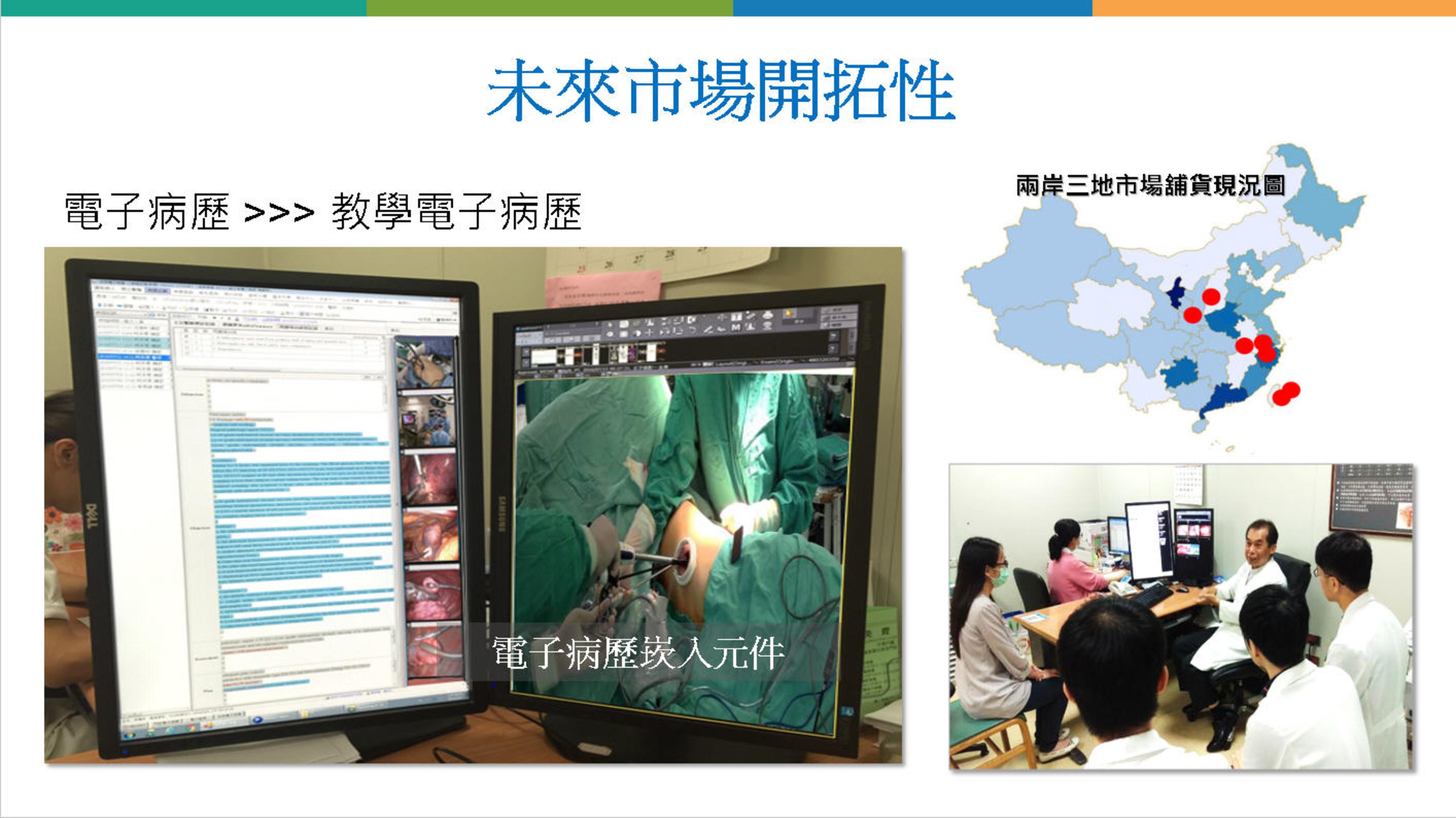 已經採用創新教學電子病歷的區域