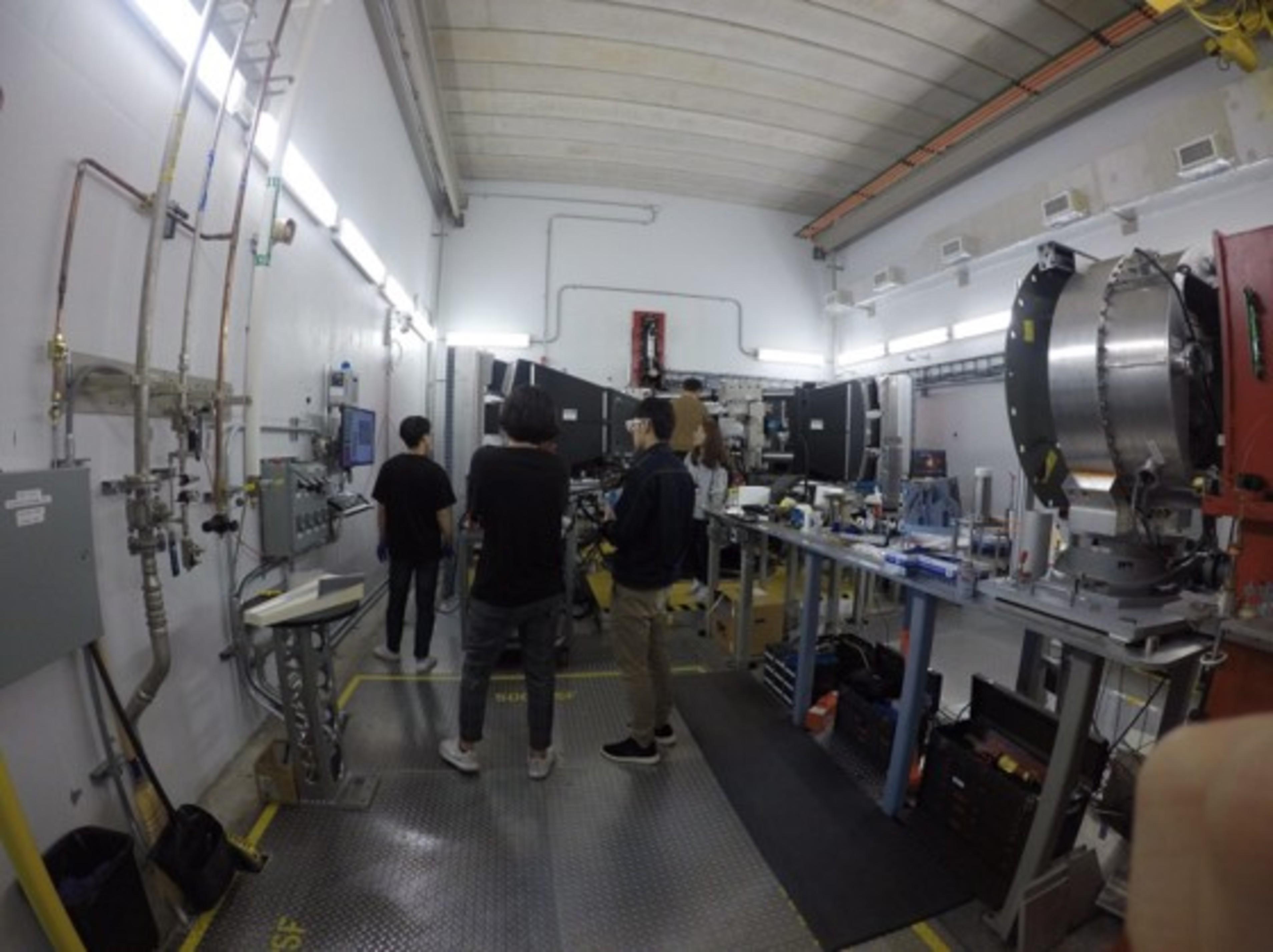 即時中子機械性能量測@美國橡樹嶺國家實驗室