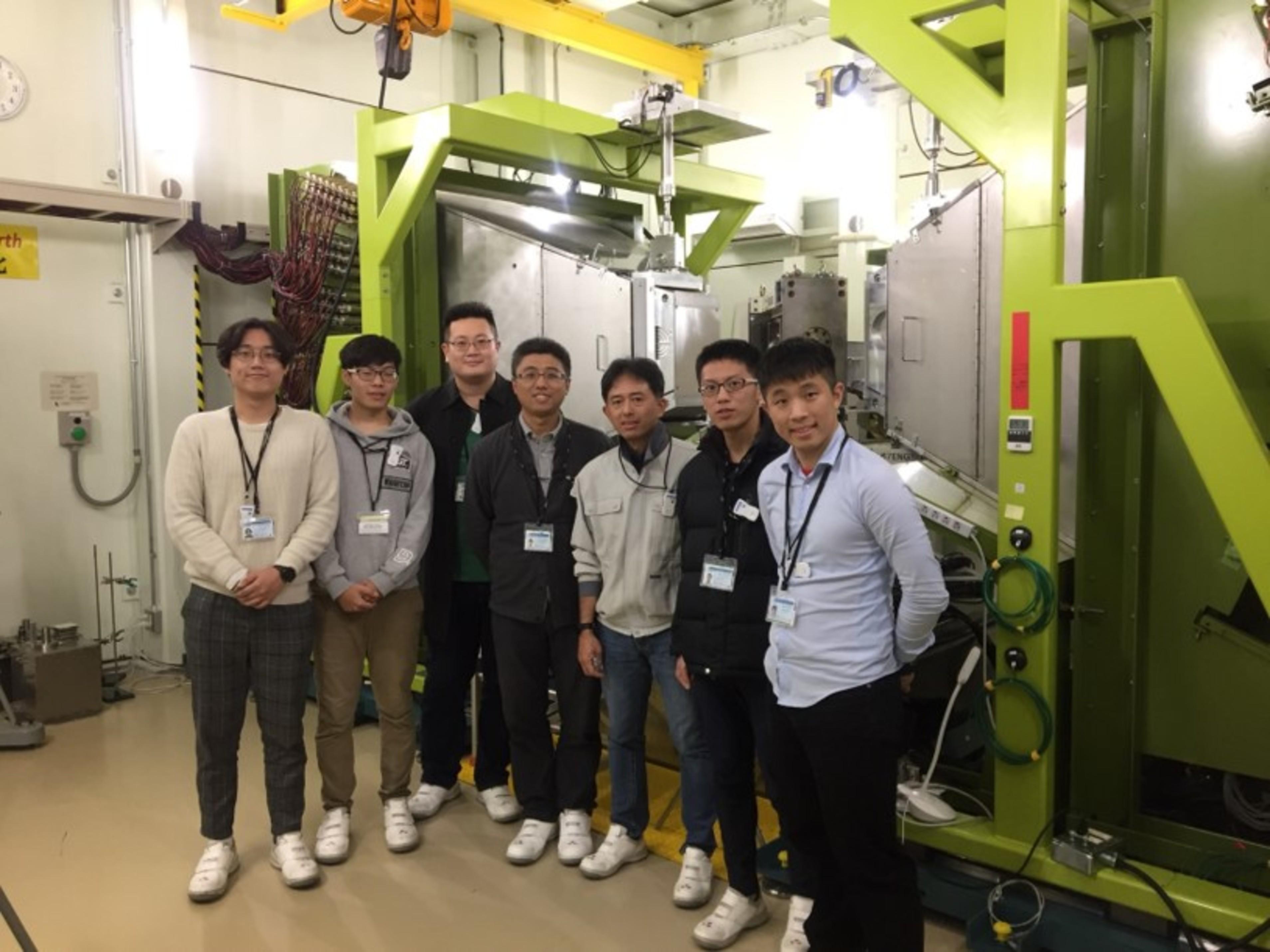 即時疲勞性質研究@日本J-PARC國家實驗室