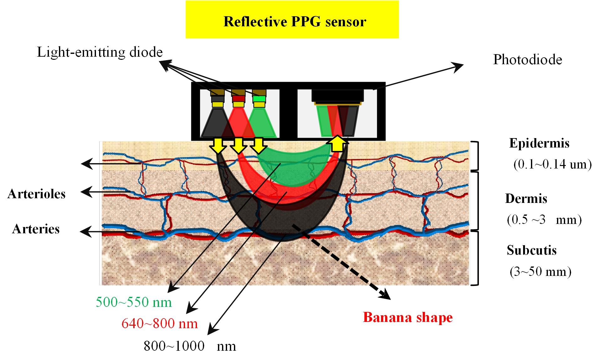 光學感測器原理圖,本團隊具有光學感測器設計、電路設計等開發能力。