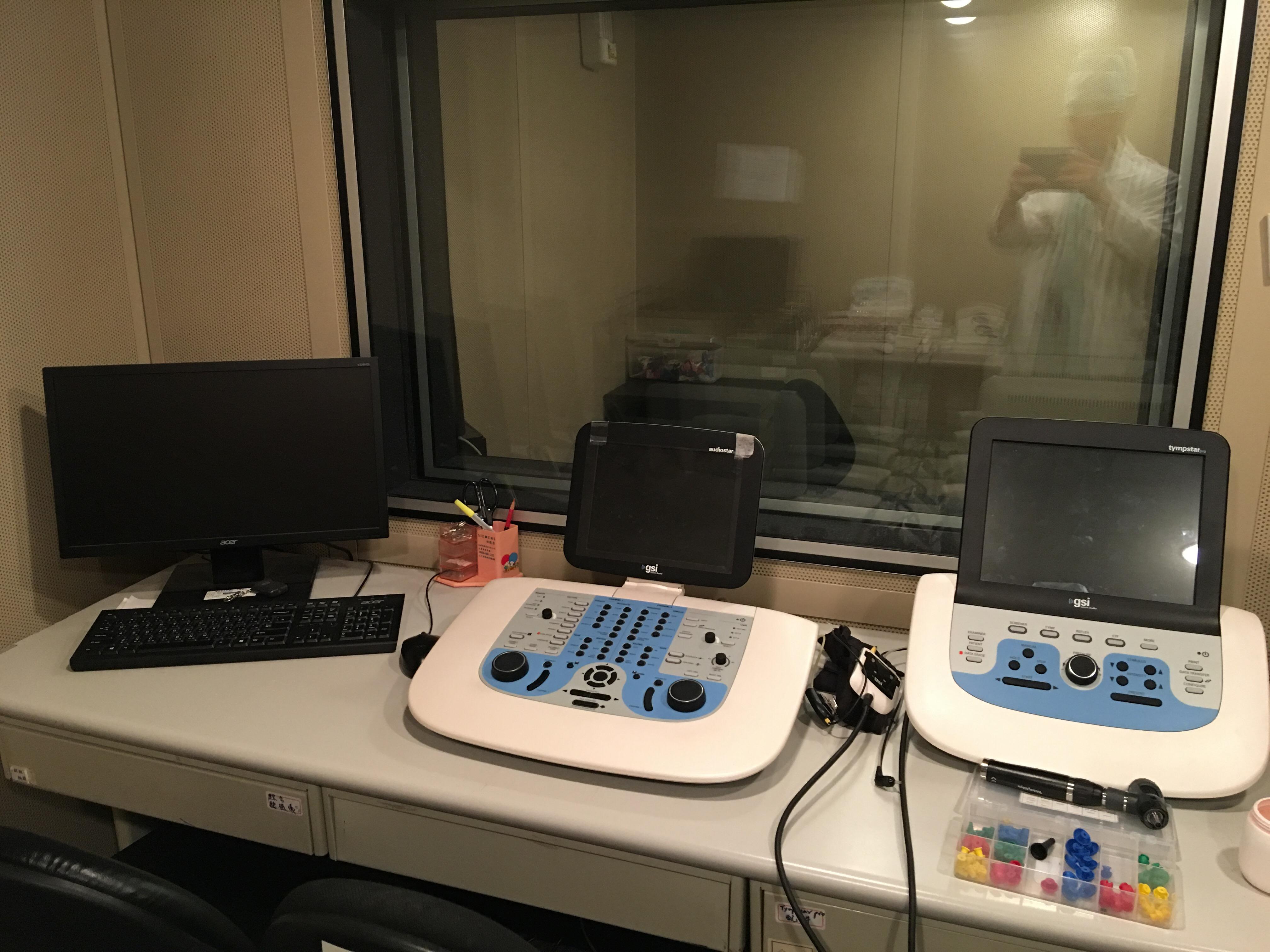 振興醫院聽覺醫學中心實驗室一景