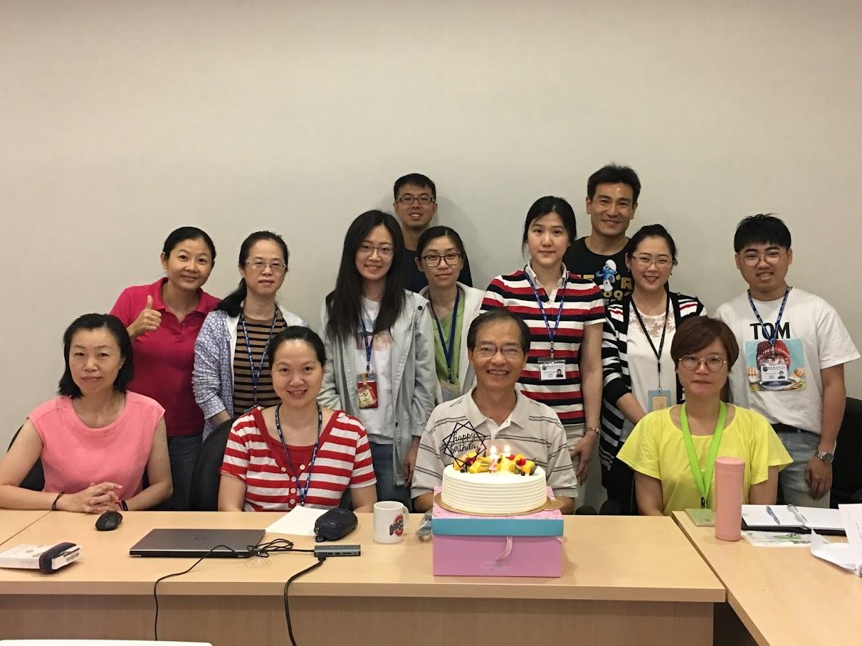 2018邱英明博士實驗室研究團隊Lab meeting