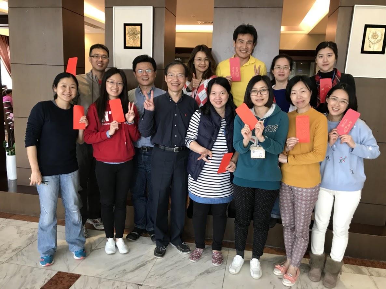 2018邱英明博士實驗室研究團隊聚餐
