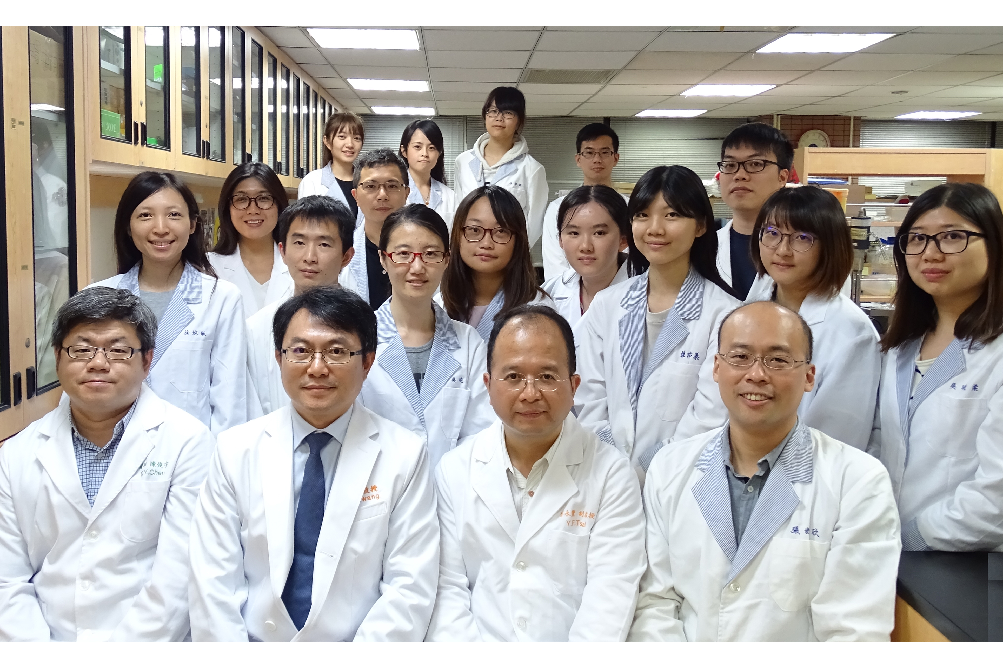 黃聰龍教授藥理實驗室團隊成員