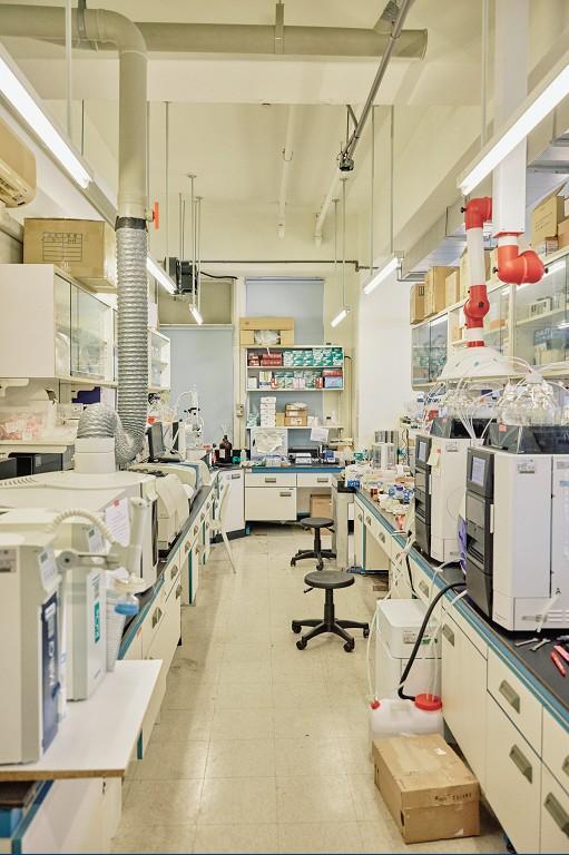 實驗室設備空間