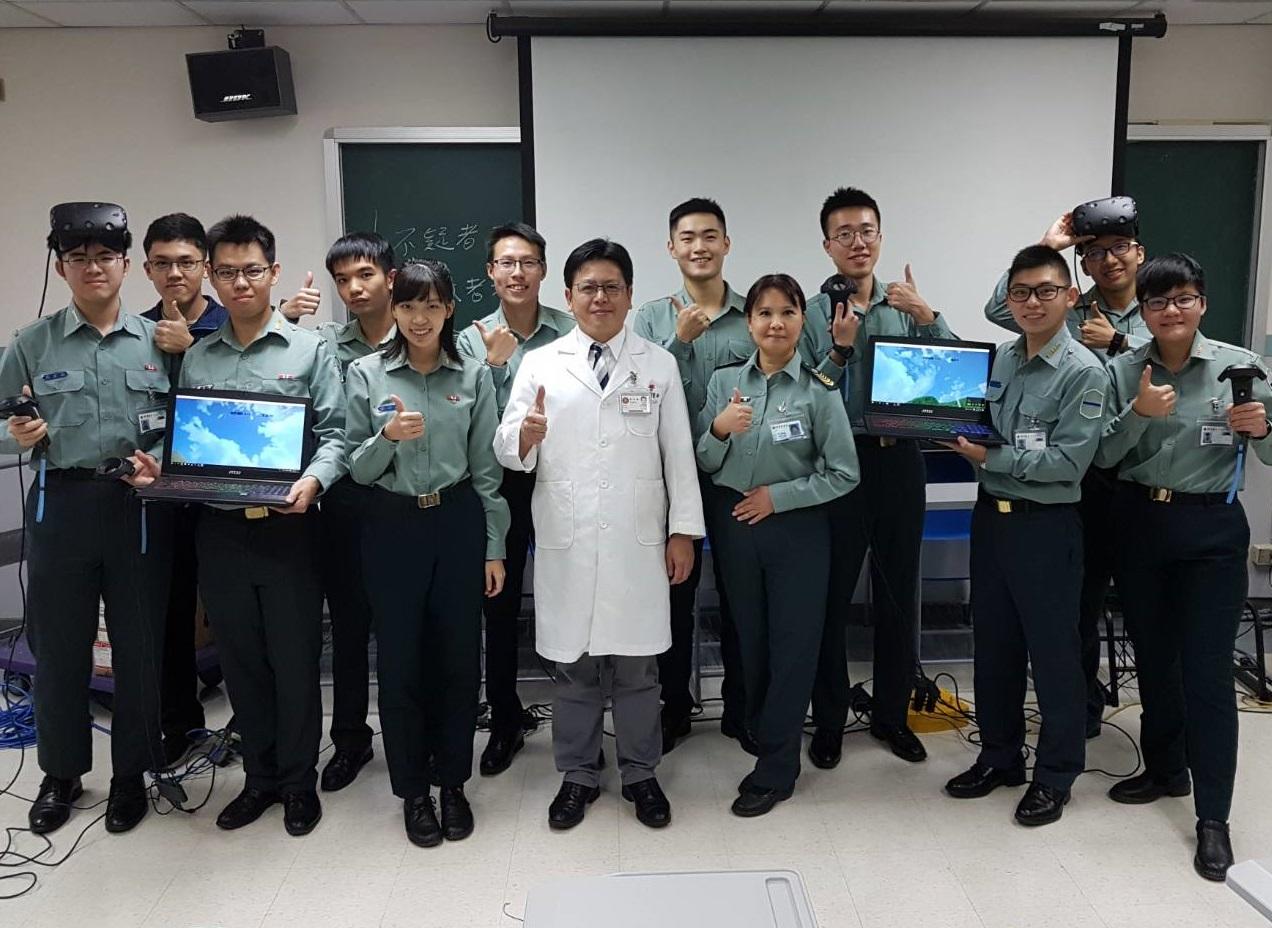 訓練國醫軍陣醫學社面對大傷現場之處置能力