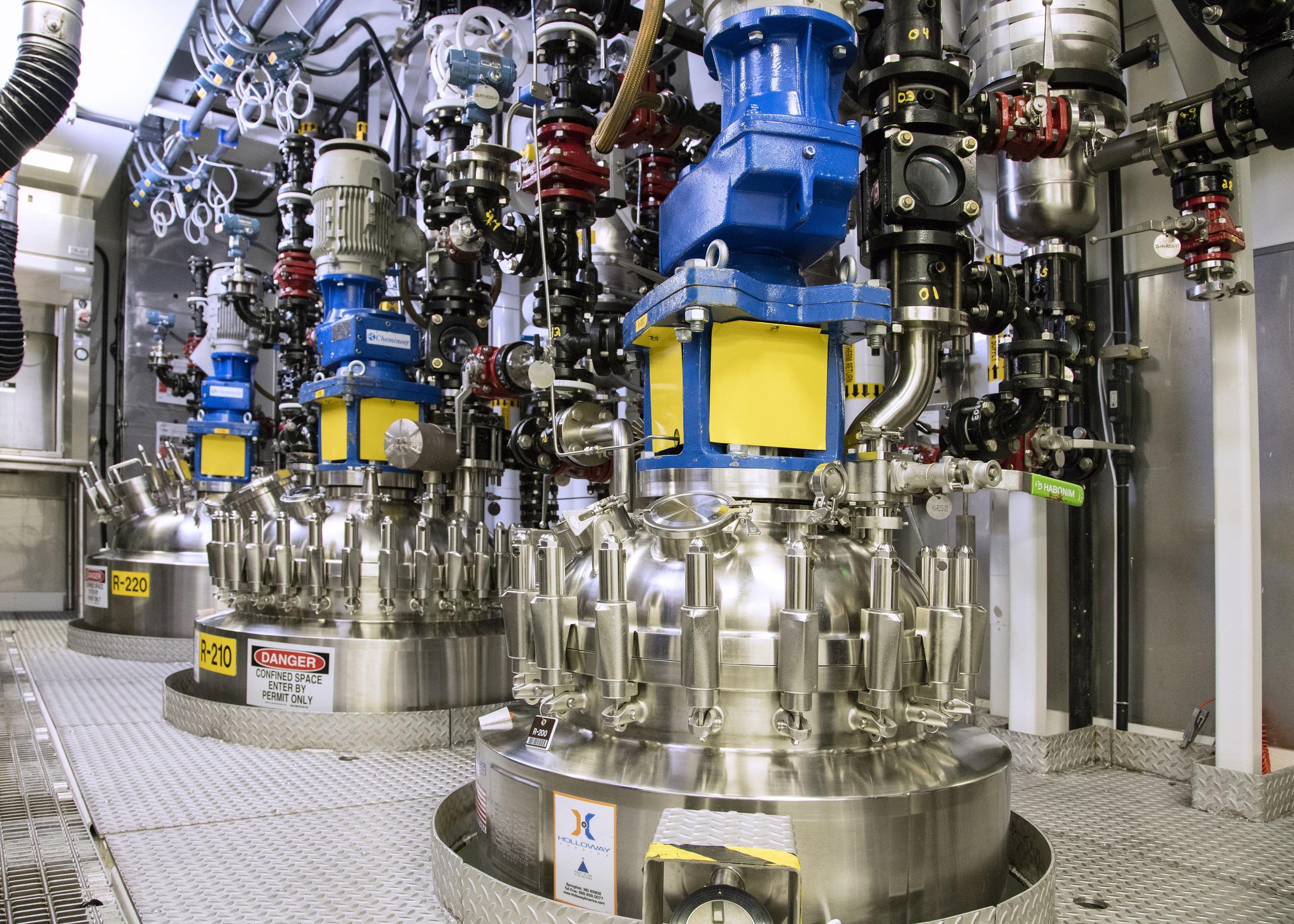 福斯特市試驗工廠是生產用於臨床試驗的藥物的生產工廠