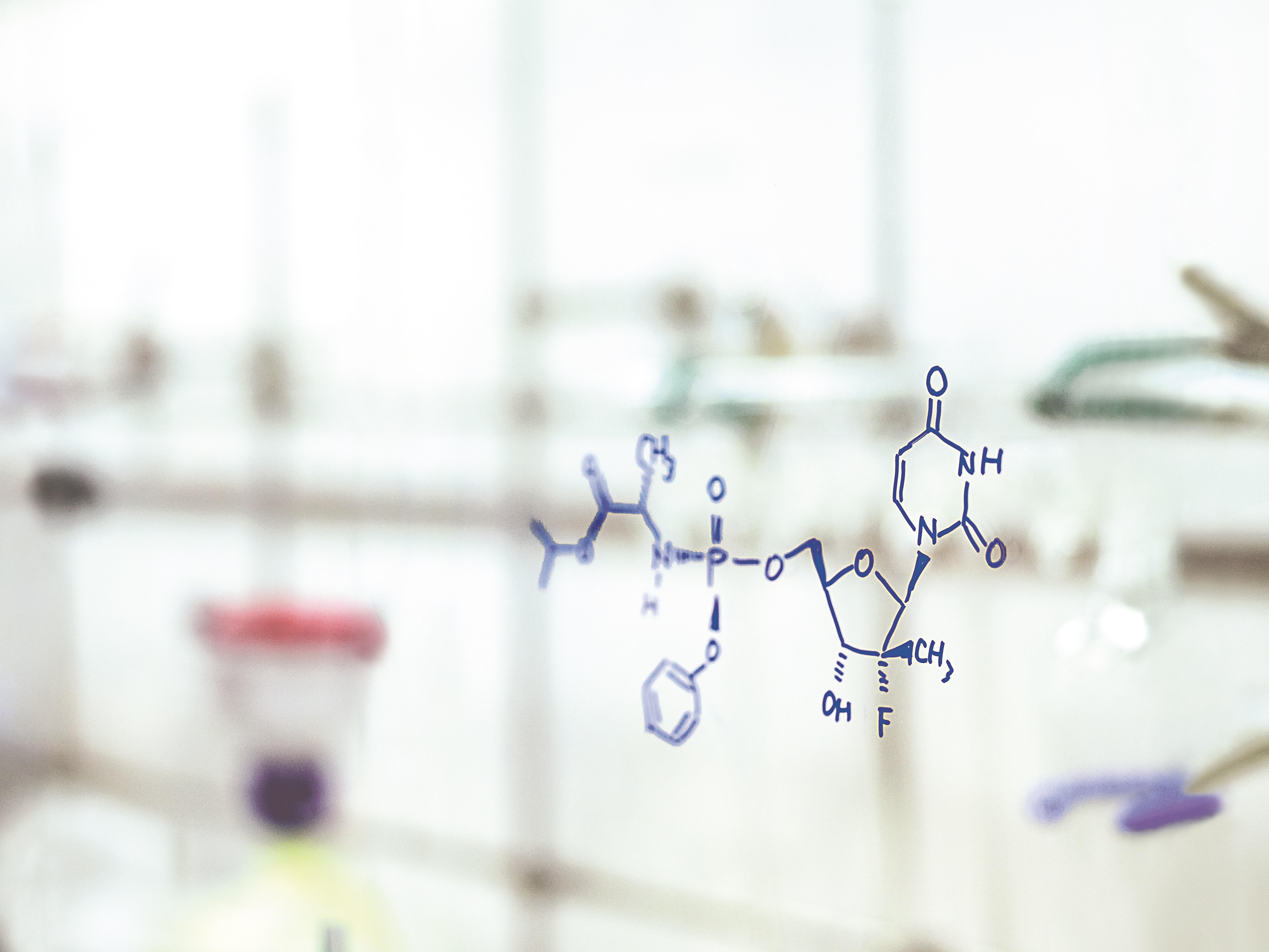 宜譜莎藥品分子結構圖