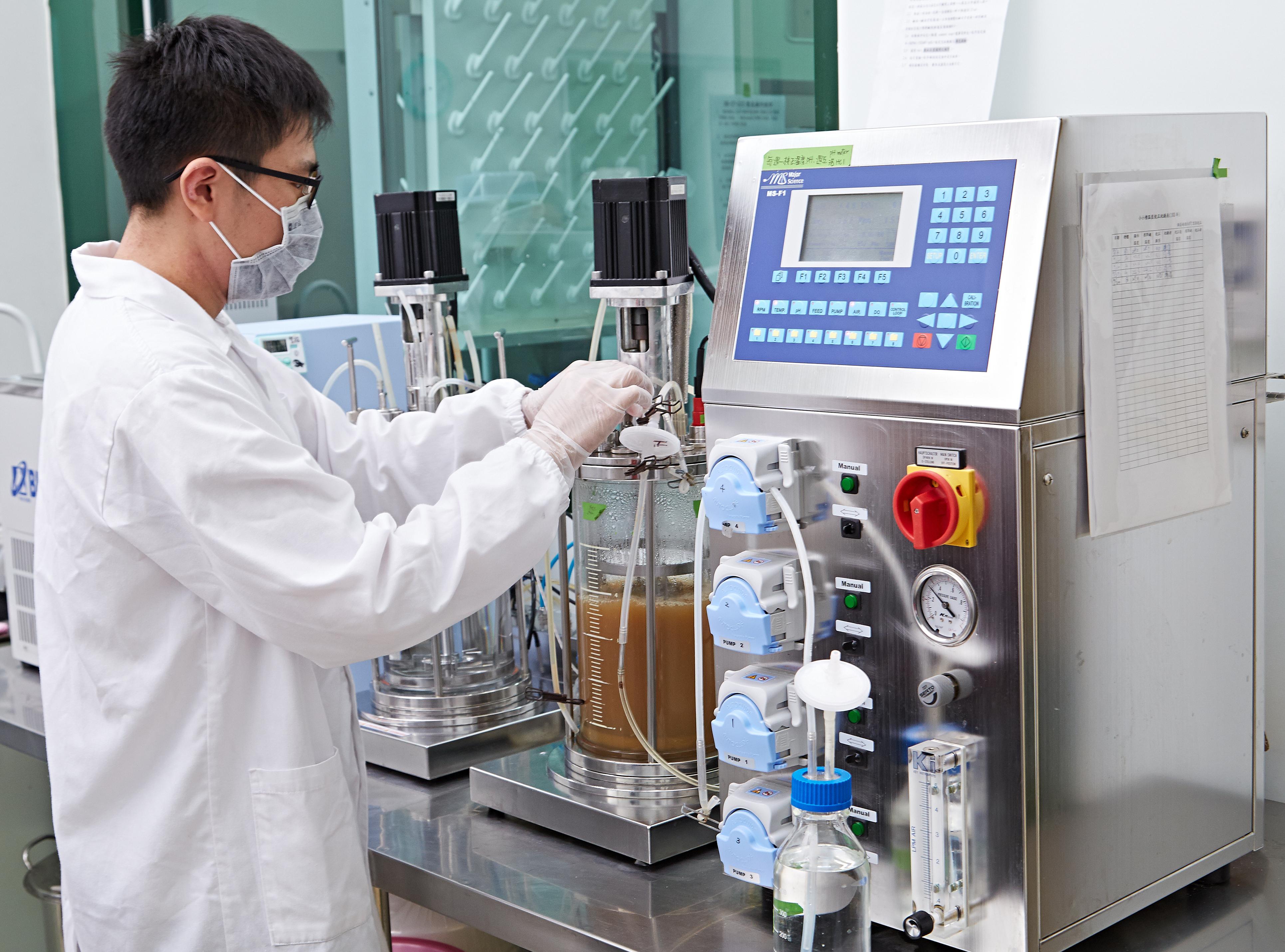 專利功效菌試量產設備