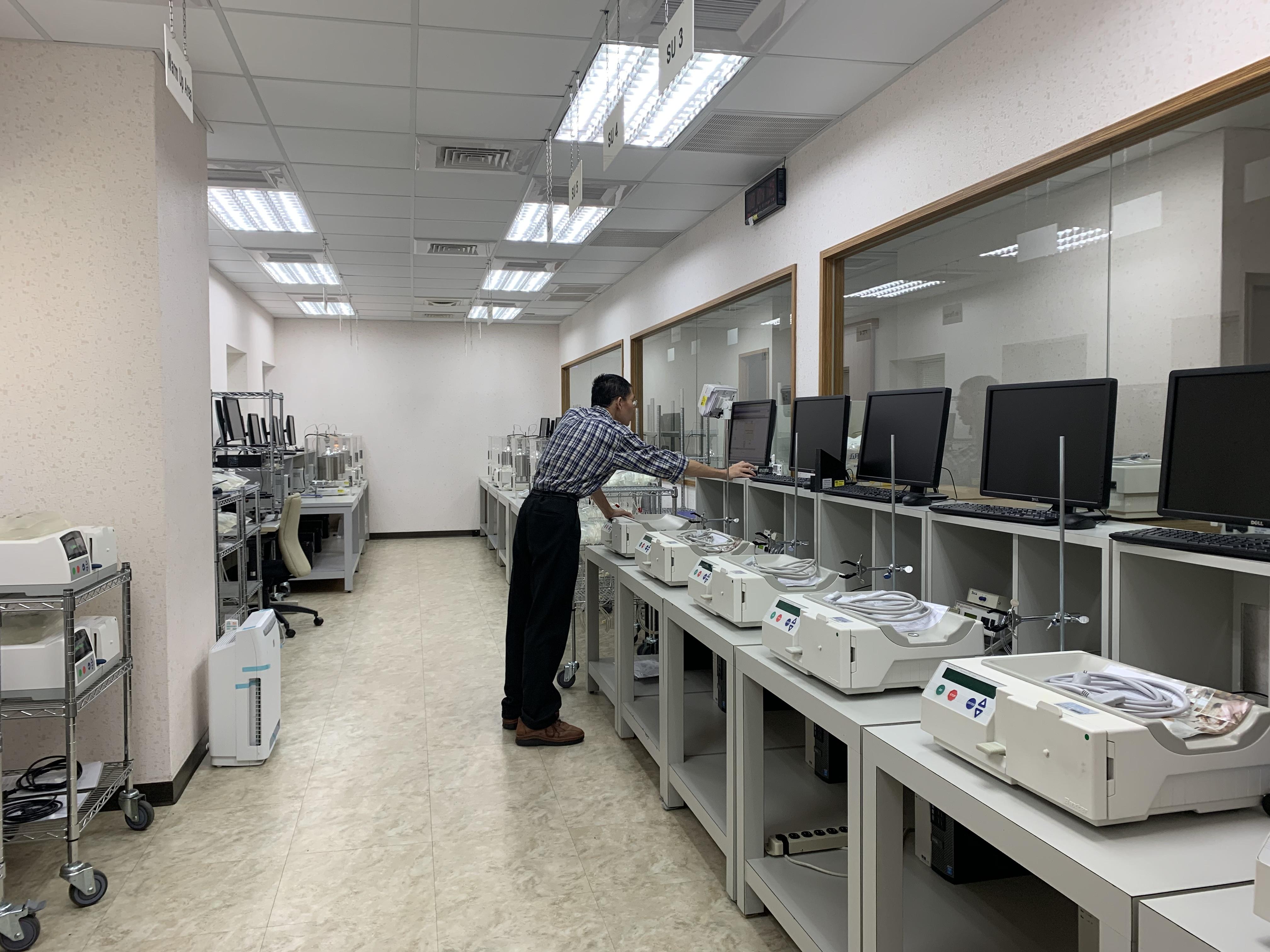 全自動腹膜透析機出機前檢測