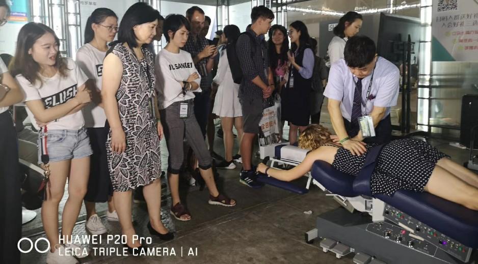團隊參加上海創投論壇展覽