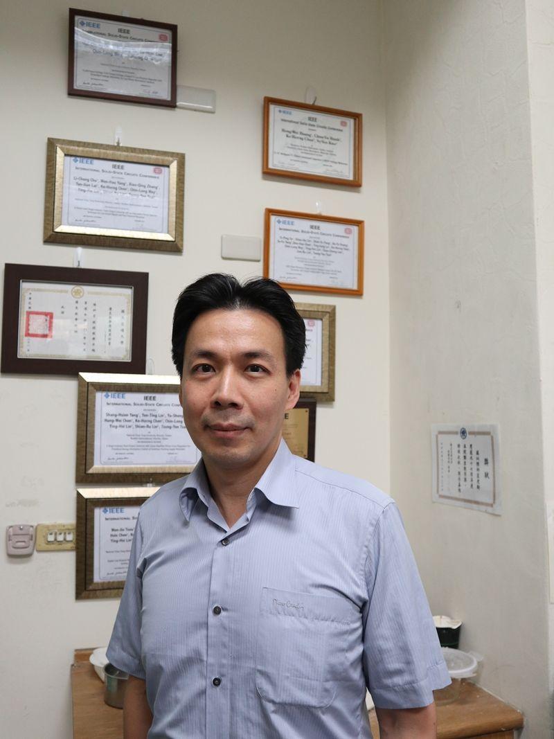 國立交通大學電機工程學系特聘教授暨系主任陳科宏教授,榮獲第十六屆國家新創獎。