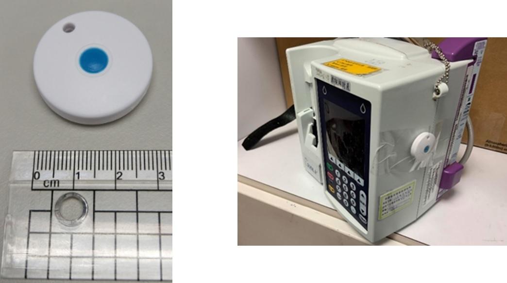 藍芽定位信標與被追蹤設備