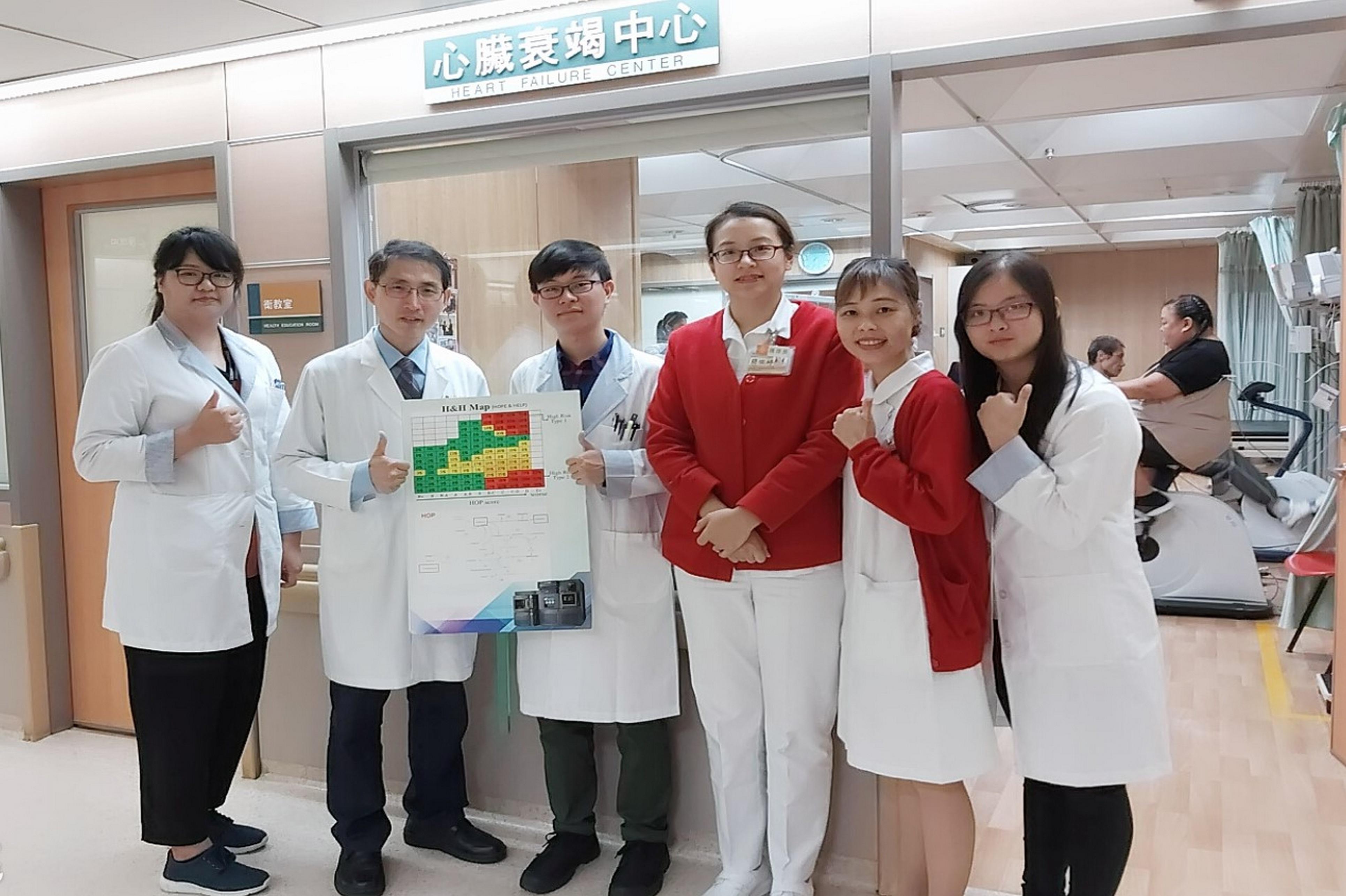 H&H MAP的誕生地: 基隆長庚心臟衰竭中心,與長庚大學代謝體核心實驗室,醫療端研究團隊