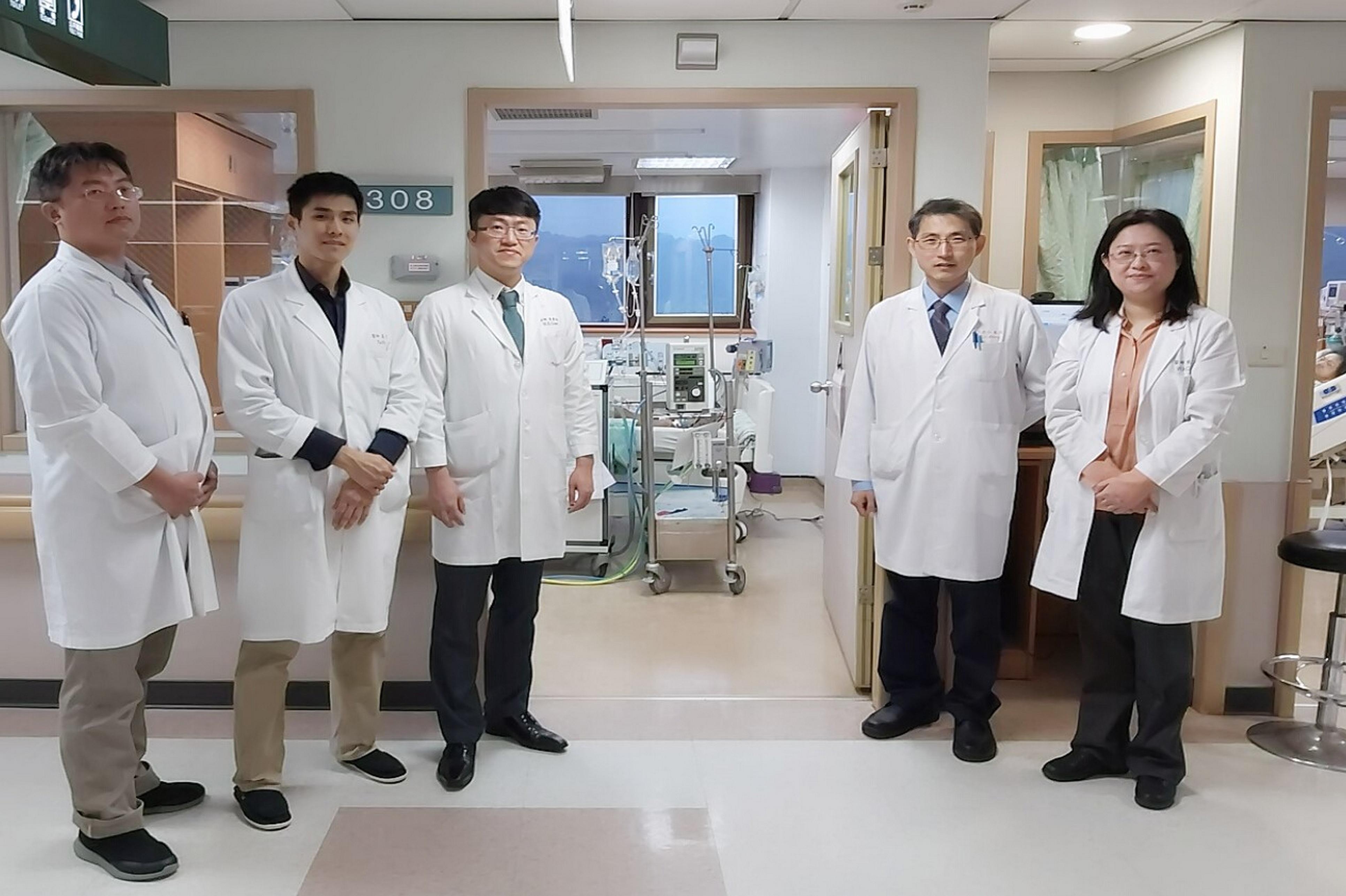 H&H MAP的應用重鎮: 基隆長庚內科加護病房醫師團隊