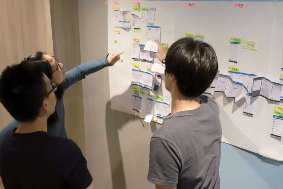 跨專業流程設計會議側拍