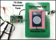 無線供電發射晶片: 本晶片技術具50W-100W的無線供電發射版,已可同時無線供電給5-10個接收端,未來將可擴充更多,並利用空中的Wi-Fi或4G、5G進行無線電能充電與訊號傳輸。