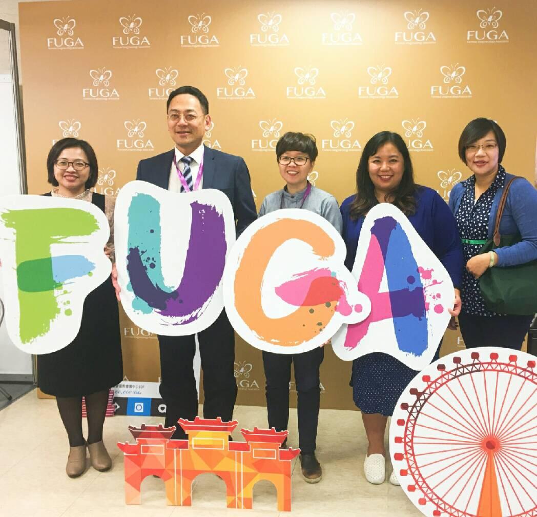 由左至右:林冠伶醫師、龍震宇醫師、劉奕吟醫師、盧紫曦醫師、吳宜霖技術員
